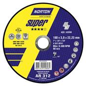 "Disco de Corte 7"" AR 312 Super Norton 3430.05010"