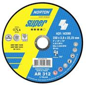 "Disco de Corte 9"" AR 312 Super Norton 3430.05015"