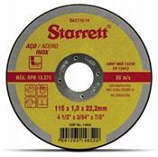 """Disco de Corte Fino 4.1/2"""" Starrett 3420.10003"""