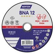 """Disco de Corte Fino 7"""" BNA12 Norton 3430.15020"""