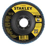"Disco Flap de Fibra 4.1/2"" GR 40 Stanley 3455.04240"