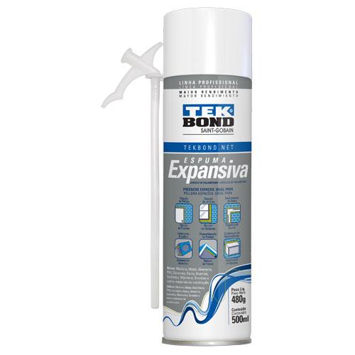 Espuma Expansiva PRO 500ml Tekbond 1125.50100