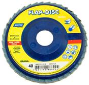 "Disco Flap de Plástico 4.1/2"" GR 40 Evolution Norton 3455.50010"