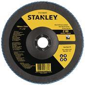 "Disco Flap de Fibra 7"" GR 80 Stanley 3455.51030"