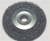 Escova de Aço Miniatura 75mmx13mm Com Furo 4500RPM 3610.05010