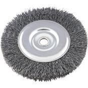 """Escova De Aço Circular 6""""x3/4"""" F. 0,40 6000RPM 3610.10020"""