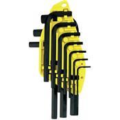 Jogo Chave Allen Curta 01,5 X 10mm 69-253 Stanley 5210.05006