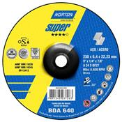 "Disco de Desbaste 9"" BDA 640 Super Norton 3450.10025"