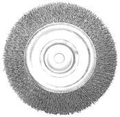 """Escova De Aço Circular 6""""x1"""" Inox 6000RPM 3610.50010"""
