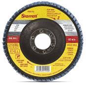 """Disco Flap de Fibra 4.1/2"""" GR 040 Starrett 3455.04040"""