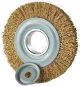 "Escova De Aço Circular 6""x1"" Latonada 6000RPM 3610.15020"
