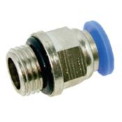 """Conector Pneumático 10mm com Rosca Externa 1/2"""" BSP 3130.05055"""