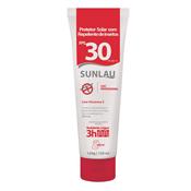 Creme Protetor Solar com Repelente de Insetos FPS30 - 120g Sunlau  3360.10105
