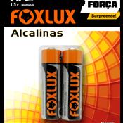 Pilha Alcalina AA Foxlux - Cartela 2 pçs 5260.60030