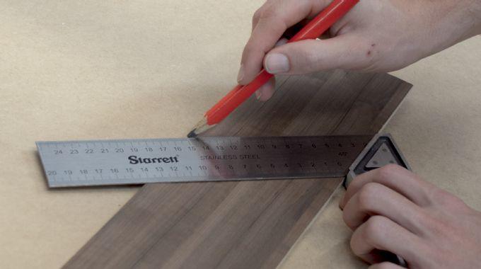 """Esquadro Profissional 8"""" 53M-200 Starrett 3910.03008"""